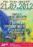 Preterm Concert September 2012