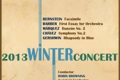 Winter Concert November 2013