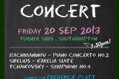 Preterm Concert September 2013