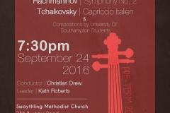 Preterm Concert September 2016