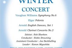 Winter Concert November 2014